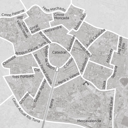 Map Of Valencia Valencia Homes For Sale Idealista