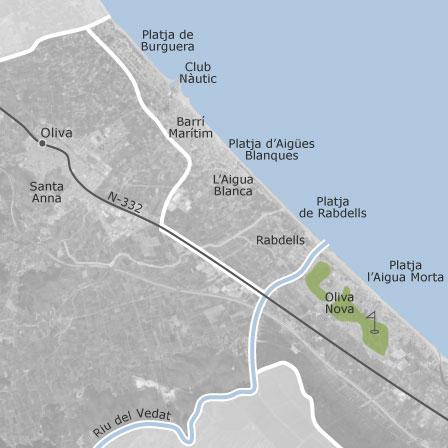 Mapa de oliva val ncia idealista - Inmobiliaria oliva valencia ...