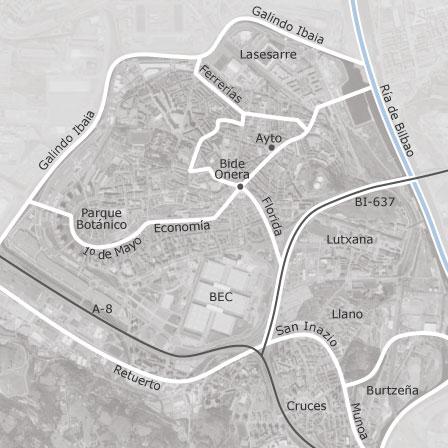 Map Of Barakaldo Vizcaya Municipalities With Listings Of Homes - Barakaldo map
